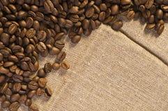 кофе фасоли предпосылки Стоковая Фотография RF