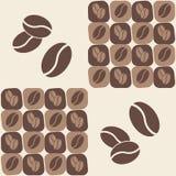 кофе фасоли иллюстрация вектора