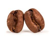 кофе 2 фасолей Стоковые Изображения RF