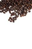 кофе фасоли близкий снятый вверх Стоковые Фотографии RF