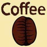 кофе фасоли близкий снятый вверх Стоковое Изображение