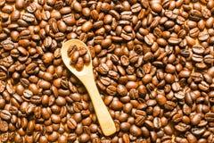 кофе фасоли близкий снятый вверх стоковая фотография