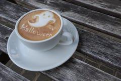 Кофе хеллоуина Стоковое фото RF