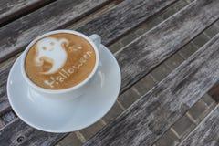 Кофе хеллоуина Стоковое Фото