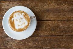 Кофе хеллоуина Стоковая Фотография
