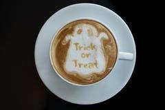 Кофе хеллоуина Стоковые Изображения RF