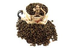 Кофе хеллоуина Стоковые Фото