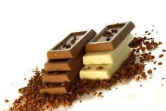 кофе шоколада предпосылки Стоковое Фото