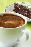 кофе шоколада торта Стоковые Фотографии RF