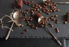кофе шоколада конфет фасолей Стоковое Изображение RF