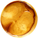 Кофе эспрессо изолированный в белой предпосылке Стоковое Фото
