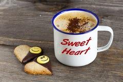 Кофе для моя любимая Стоковая Фотография RF