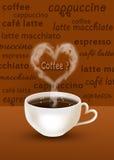 Кофе? Стоковое Изображение