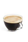 Кофе Americano с естественной пеной Стоковые Фото