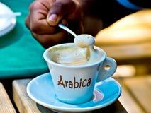 Кофе Arabica, самый лучший кофе в слове Стоковые Фотографии RF