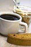 кофе biscotti Стоковые Фотографии RF
