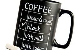 кофе choise ваш Стоковое фото RF