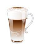 Кофе Latte Стоковые Изображения RF