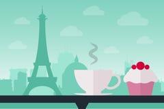 кофе paris Стоковое Изображение RF