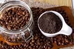 Кофе Scrub Стоковое Изображение