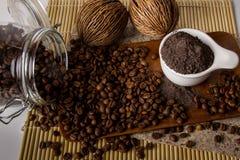 Кофе Scrub Стоковое Фото