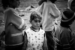 Кочевнические дети Стоковое фото RF