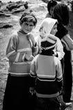 Кочевнические дети Стоковая Фотография RF