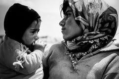 Кочевнические дети Стоковые Фото