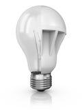 Коллаж ламп иллюстрация штока