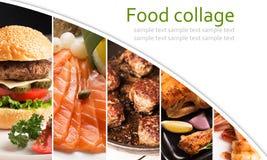 Коллаж еды стоковое фото rf