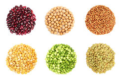 Коллаж от зерна стоковое изображение rf
