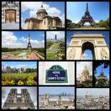 Коллаж Парижа Стоковая Фотография RF