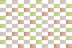 Коллаж пестротканых деревянных предкрылков Стоковое Изображение RF