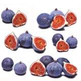 Коллаж свежих смокв стоковое изображение rf