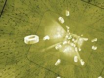 Коллаж связи Стоковая Фотография RF