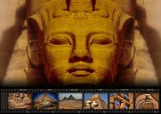 Коллаж 004b (цвет без названия) Стоковые Изображения RF