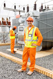 Коллега инженер-электрика Стоковое Фото