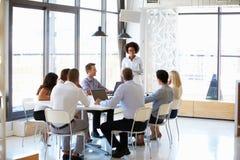 Коллеги на встрече офиса Стоковые Фото