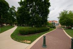 Коллеж Йорка кампуса Пенсильвании Стоковые Изображения RF