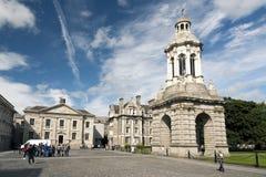 Коллеж троицы, Ирландия Стоковое Изображение RF