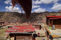 Коллеж Larong Wuming s буддийский в Seda Стоковые Фотографии RF