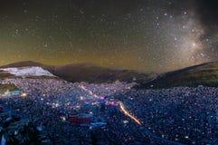 Коллеж Wuming Будды под звёздным Стоковая Фотография RF