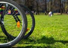 Колеса велосипеда Стоковое Фото