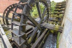 Колеса воды на watermill Стоковое Изображение RF