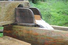 Колеса воды с водой Стоковые Фотографии RF