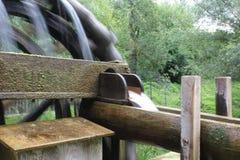 Колеса воды с водой Стоковое Фото
