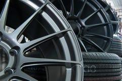 Колеса и автошины Стоковое Изображение RF