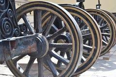 Колеса канона Стоковое фото RF