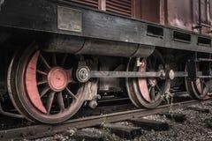 Колеса поезда Стоковые Изображения