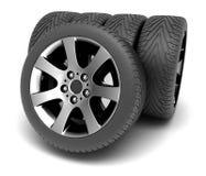 колеса спорта иконы автомобиля 3d Шприц концепции design Стоковое Фото